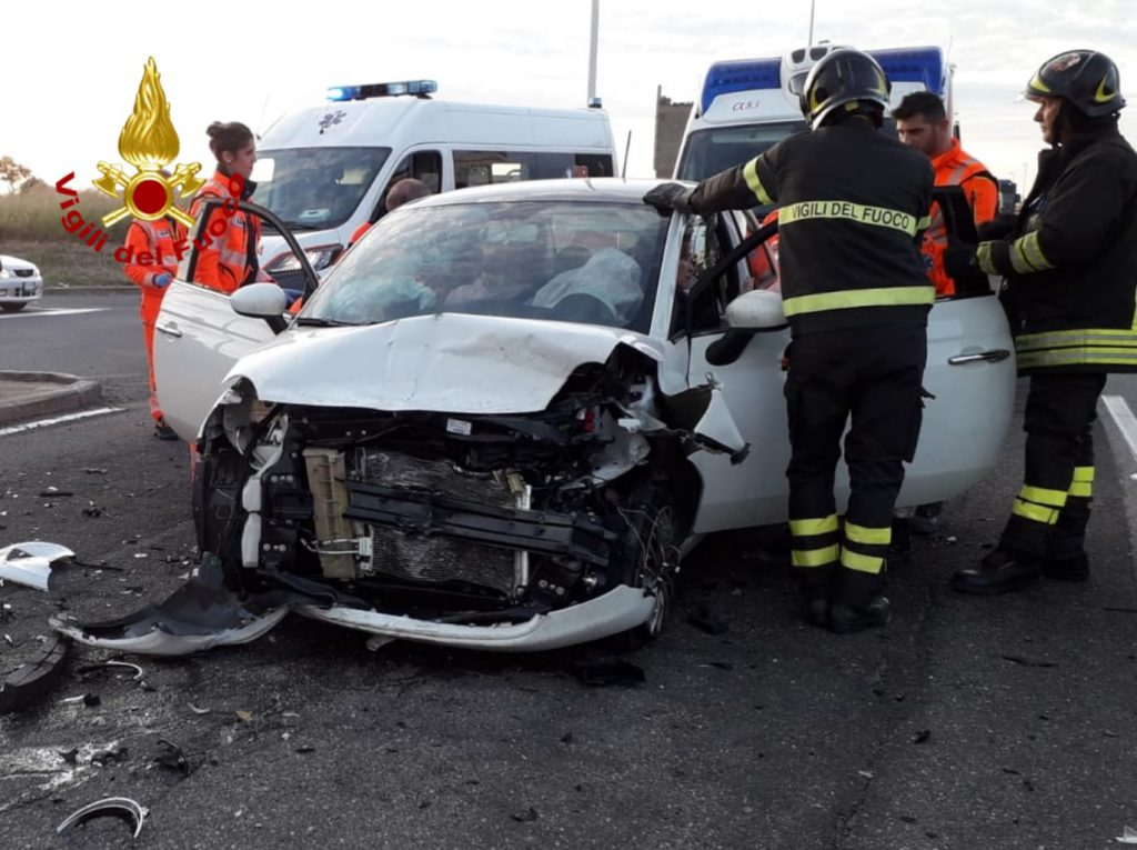 Cagliari, grave incidente in viale Monastir: intervento ...