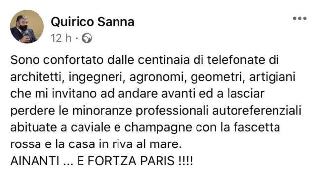 Opposizioni Contro Piano Casa Sanna Abituati A Caviale E Champagne Orru Risposta Scorretta E Divisiva Cagliaripad